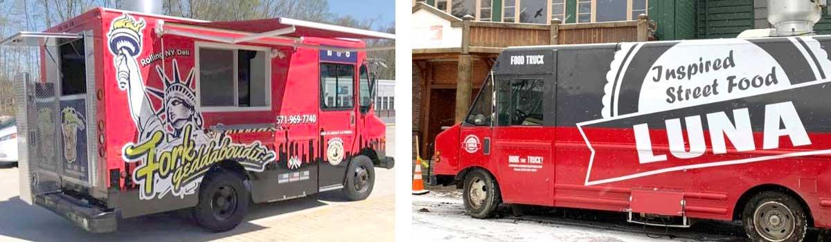Fairfax custom food trucks