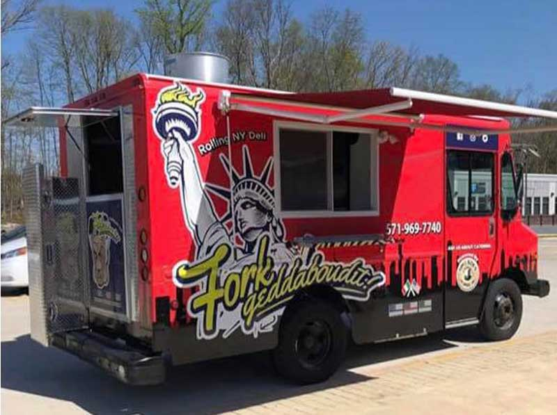 New York deli food truck