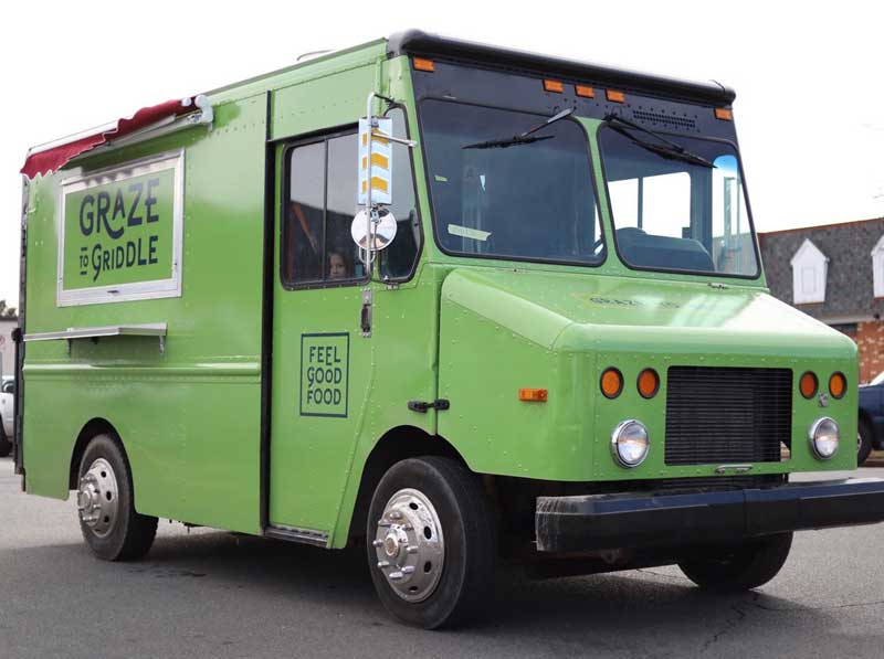 local sourced food truck