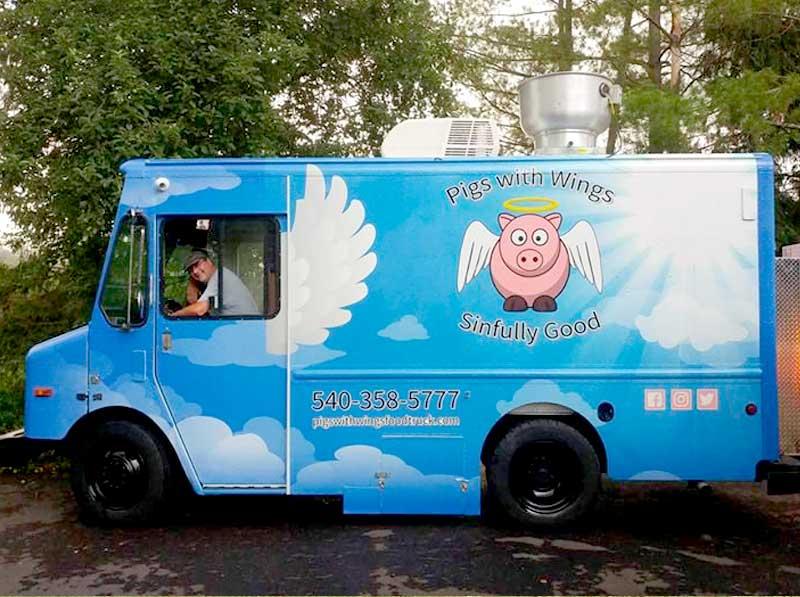 pork bbq food truck virginia