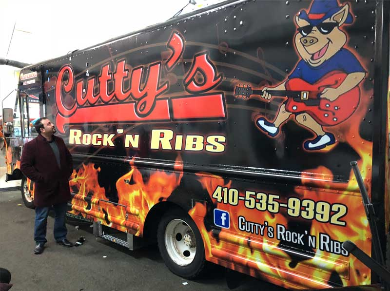 bbq ribs food truck Maryland