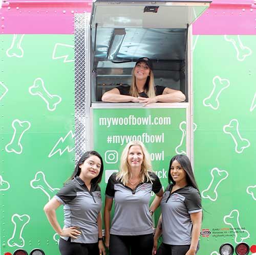 food truck girls