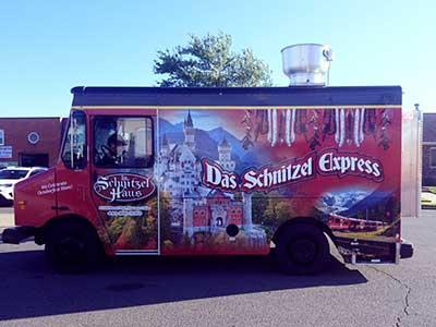 schnitzel food truck