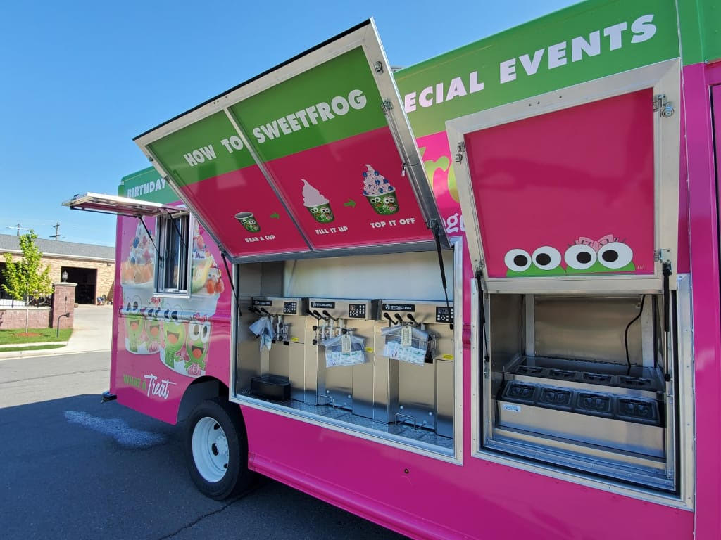 Sweet Frog Near Me, Sweet Frog Food Truck, Food Trucks For Sale